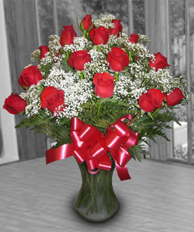Three Dozen Red Roses Valentine pricing