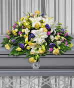 Casket Spray  Colorful Mix